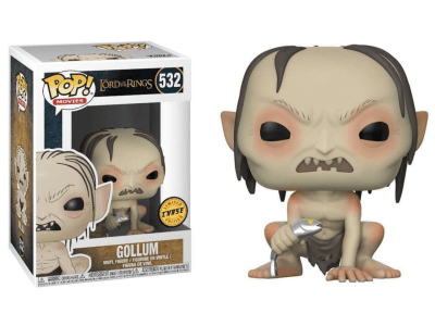 POP, Figura de Vinilo Coleccionable, The Lord orf the Rings, Gollum, Nº532