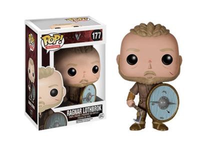POP, Figura de Vinilo Coleccionable, Vikings, Ragnar Lothbrok, Nº177