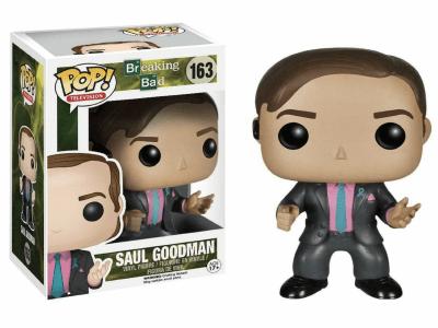 POP, Figura de Vinilo Coleccionable, The Breaking Bad, Saul Gooddman, Nº163
