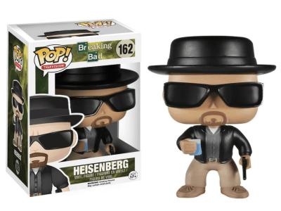 POP, Figura de Vinilo Coleccionable, The Breaking Bad, Heisenberg, Nº162