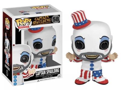 POP, Figura de Vinilo Coleccionable, Captain Spaulding, Captain spaulding, Nº58