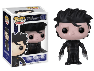 POP, Figura de Vinilo Coleccionable, Edward Scissorhands, Edward Scissorhands, Nº17