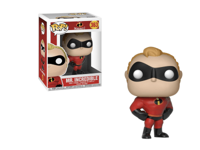 POP, Figura de Vinilo Coleccionable, Incredibles 2, Mr. Increible, Nº363