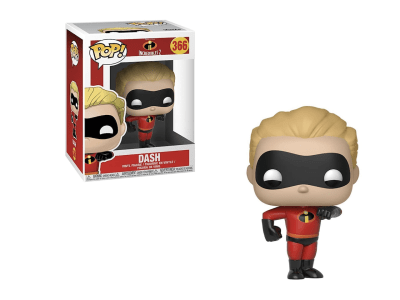 POP, Figura de Vinilo Coleccionable, Incredibles 2, Dash, Nº366