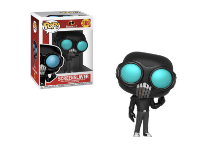 POP, Figura de Vinilo Coleccionable, Incredibles 2, Screenslaver, Nº369