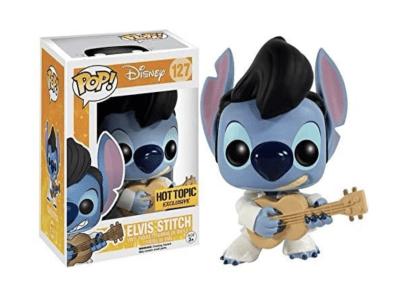 POP, Figura de Vinilo Coleccionable, Disney, Elvis Stitch, Nº127