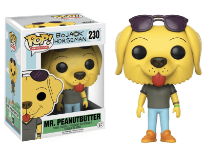 POP, Figura de Vinilo Coleccionable, Bojack Horseman, Mr. Peanutbutter, Nº230