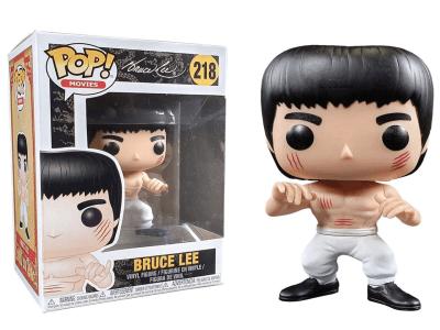 POP, Figura de Vinilo Coleccionable, Bruce Lee, Bruce Lee (White Pant), Nº218