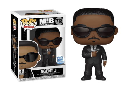 POP, Figura de Vinilo Coleccionable, Men in Black, Agent J, Nº718