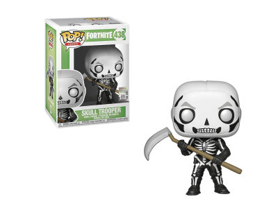 POP, Figura de Vinilo Coleccionable, Fornite, Skull Trooper, Nº438