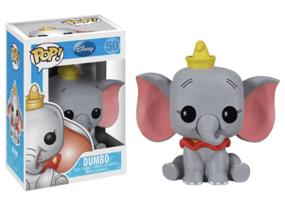 POP, Figura de Vinilo Coleccionable, Disney, Dumbo, Nº50