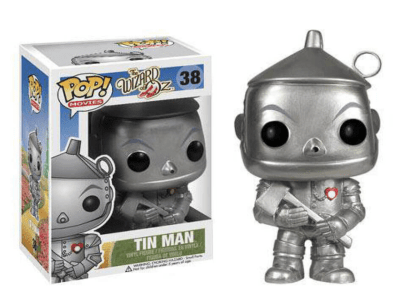 POP, Figura de Vinilo Coleccionable, The Wizard of Oz, Tin Man, Nº38