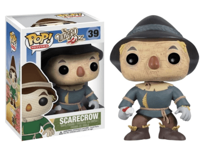 POP, Figura de Vinilo Coleccionable, The Wizard of Oz, Scarecrow, Nº39