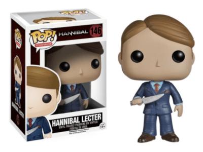 POP, Figura de Vinilo Coleccionable, Hannibal, Hannibal Lecter, Nº146