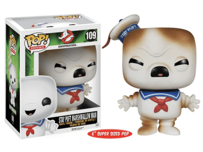 POP, Figura de Vinilo Coleccionable, Ghosbasters, Stay Puft Marshmallow Man (Angry), Nº109