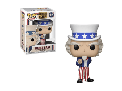 POP, Figura de Vinilo Coleccionable, American History, Uncle Sam, Nº12