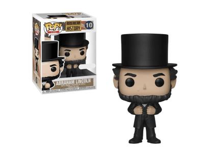 POP, Figura de Vinilo Coleccionable, American History, Abraham Lincoln, Nº10