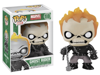 POP, Figura de Vinilo Coleccionable, Marvel, Ghost Rider, Nº18