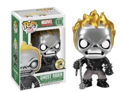POP, Figura de Vinilo Coleccionable, Marvel, Ghost Rider (Special), Nº18