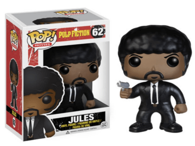POP, Figura de Vinilo Coleccionable, Pulp Fiction, Jules, Nº62