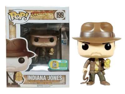 POP, Figura de Vinilo Coleccionable, Indiana Jones Adventure, Indiana Jones, Nº199
