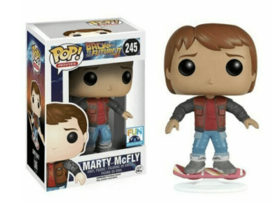 POP, Figura de Vinilo Coleccionable, Back to the Future, Marty McFly, Nº245