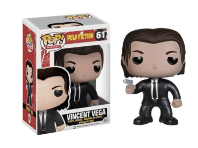 POP, Figura de Vinilo Coleccionable, Pulp Fiction, Vincent Vega, Nº61