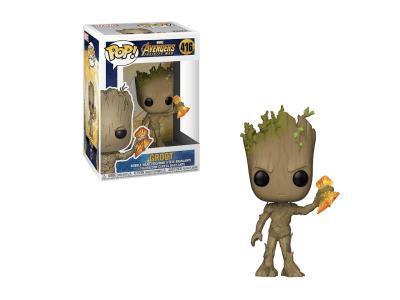 POP, Figura de Vinilo Coleccionable, Marvel, Groot, Nº416