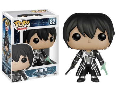 POP, Figura de Vinilo Coleccionable, Sword Art Online, Kirito, Nº82
