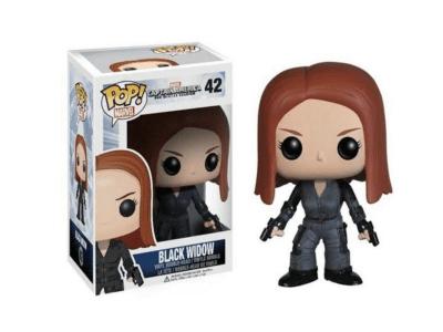 POP, Figura de Vinilo Coleccionable, Marvel, Black Widow, Nº42