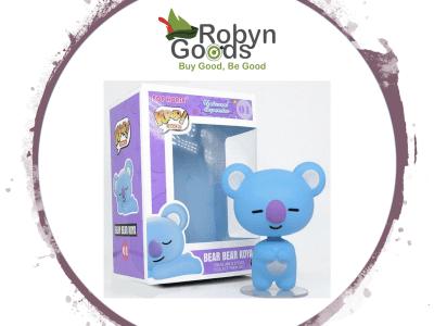POP, Figura de Vinilo Coleccionable, Universal Superstar, Bear Bear Koya, Nº01