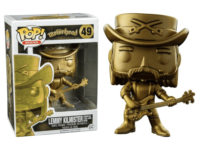 POP, Figura de Vinilo Coleccionable, Motorhead, Lemmy Kilmister, Nº49
