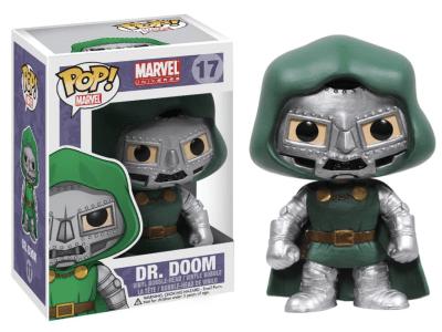POP, Figura de Vinilo Coleccionable, Marvel, Dr. Doom, Nº17
