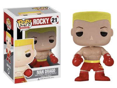 POP, Figura de Vinilo Coleccionable, Rocky, Ivan Drago, Nº21