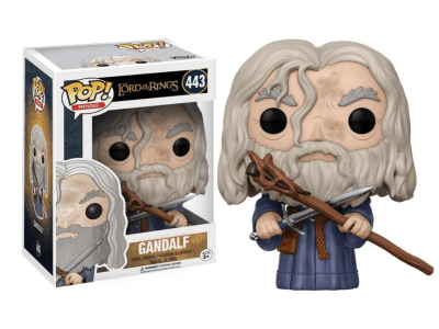 POP, Figura de Vinilo Coleccionable, The Lord orf the Rings, Gandalf, Nº443