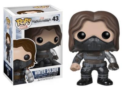 POP, Figura de Vinilo Coleccionable, Marvel, Winter Soldier, Nº43