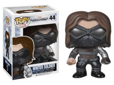 POP, Figura de Vinilo Coleccionable, Marvel, Winter Soldier (Glass), Nº44