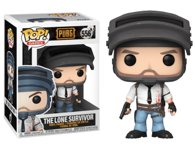 POP, Figura de Vinilo Coleccionable, Pubg, The Lone Survivor, Nº556