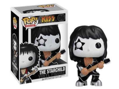 POP, Figura de Vinilo Coleccionable, Kizz, The Starchild, Nº06