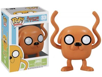 POP, Figura de Vinilo Coleccionable, Adventure Time, Jake, Nº33