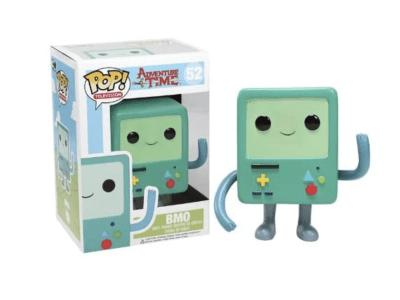 POP, Figura de Vinilo Coleccionable, Adventure time, BMO, Nº52