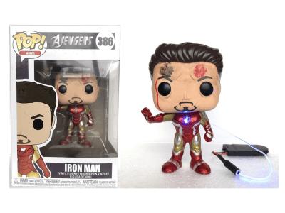 POP, Figura de Vinilo Coleccionable, Marvel, Iron Man (Battery), Nº386