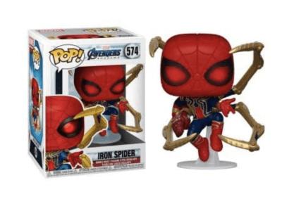 POP, Figura de Vinilo Coleccionable, Marvel, Iron spider, Nº574