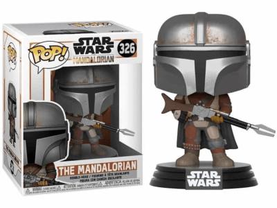 POP, Figura de Vinilo Coleccionable, Star Wars, The Mandalorian, Nº326
