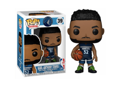 POP, Figura de Vinilo Coleccionable, NBA, Karl-Anthony Towns, Nº39