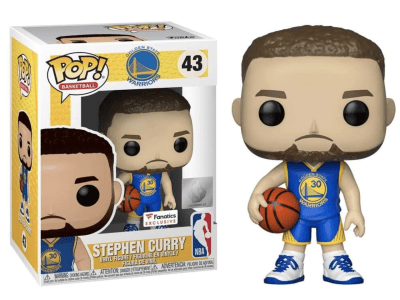 POP, Figura de Vinilo Coleccionable, NBA, Stephen Curry, Nº43