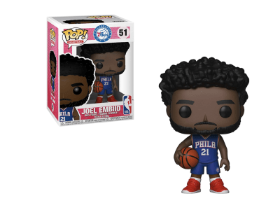 POP, Figura de Vinilo Coleccionable, NBA, Joel Embiid, Nº51