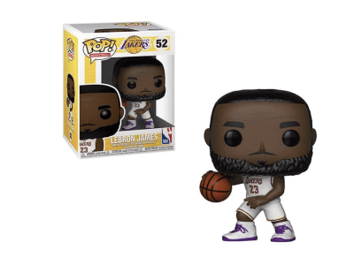 POP, Figura de Vinilo Coleccionable, NBA, Lebroon James, Nº52