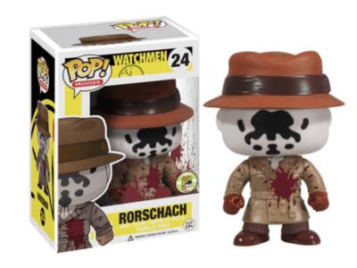 POP, Figura de Vinilo Coleccionable, Watchmen, Rorschach (Blood), Nº24