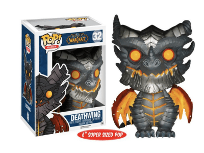 POP, Figura de Vinilo Coleccionable, Warcraft, Deathwing (Big), Nº32
